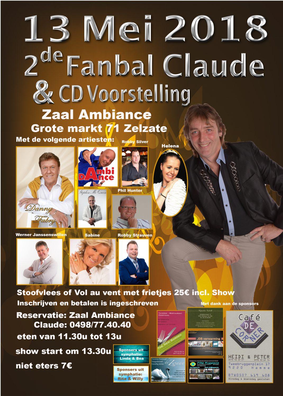 Optreden Fanbal Claude -  Zelzate