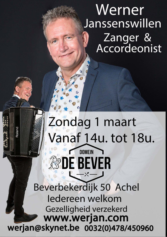 Optreden Domein De Bever.  Achel