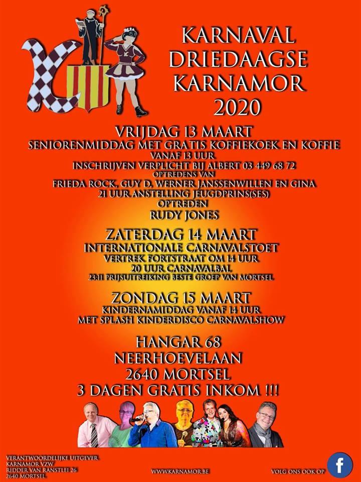 Optreden Mortsel Karnamor